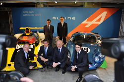 Dignitaries announce Alpine's official return to sportscar racing