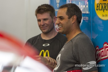 Juan Pablo Montoya and Jamie McMurray