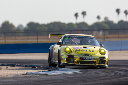 #11 JDX Racing Porsche 911 GT3 Cup: Mike Hedlund, Jan Heylen, Jon Fogarty