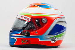 The helmet of Paul di Resta, Sahara Force India F1