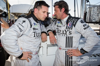 Andy Lally and Patrick Dempsey