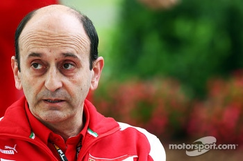 Luca Mamorini, Ferrari Head of Engine and Electronics Department
