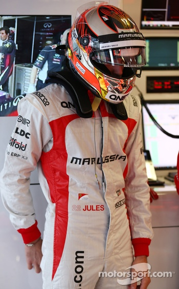 Jules Bianchi, Marussia F1 Team