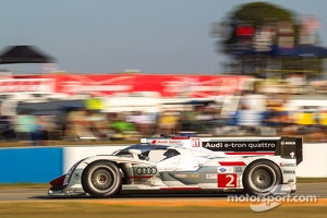 Audi R18 e-tron quattro the current big winner with alternative energy.