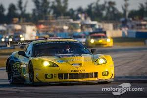 Corvette Racing Chevrolet Corvette C6 ZR1: Oliver Gavin, Tom Milner