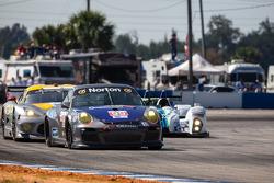 #99 Competiton Motorsports Porsche 911 GT3 Cup: David Calvert-Jones, Sascha Maassen, Lawson Aschenbach