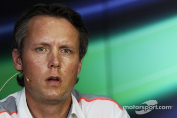 Sam Michael, McLaren Sporting Director in the FIA Press Conference