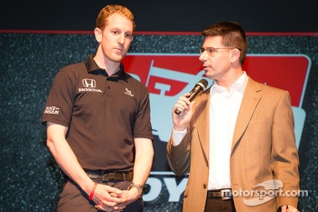 Drivers presentation: Charlie Kimball, Novo Nordisk Chip Ganassi Racing Honda