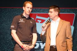 Drivers presentation: Charlie Kimball, Novo Nordisk Chip Ganassi Racing Honda