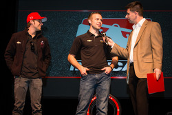 Drivers presentation: Marco Andretti, Andretti Autosport Chevrolet and Ed Carpenter, Ed Carpenter Racing Chevrolet