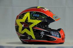 Helmet, Norbert Michelisz, Honda Civic, Zengo Motorsport