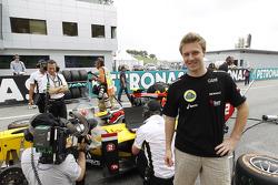 Davide Valsecchi, Lotus F1 reserve driver