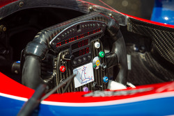Steering wheel for Marco Andretti, Andretti Autosport Chevrolet