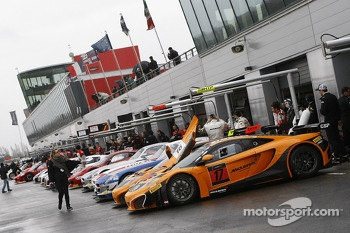 #17 Drr Motorsport McLaren MP4-12C: Paul Green, Arne Hoffmeister