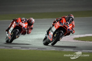 Andrea Dovizioso, Ducati Team and Nicky Hayden, Ducati Team