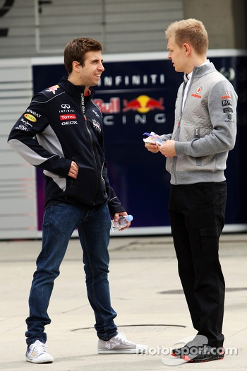 Antonio Felix da Costa, Red Bull Racing Reserve Driver with Kevin Magnussen, McLaren Test Driver
