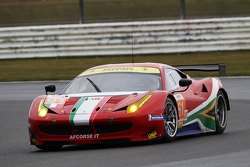 Jack Gerber, Matt Griffin, Marco Cioci, AF Corse, Ferrari F458 Italia
