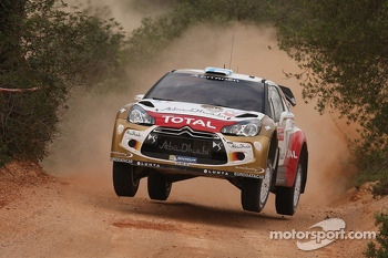 Mikko Hirvonen, Jarmo Lehtinen, Citron DS3 WRC, Citron Total Abu Dhabi World Rally Team
