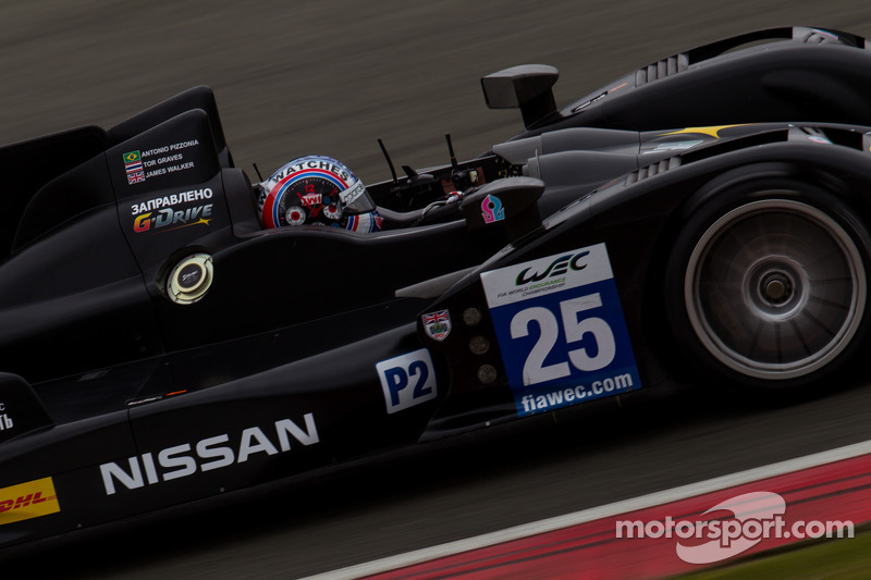 #25 ADR-Delta Oreca 03 Nissan: Tor Graves, Antonio Pizzonia, James Walker