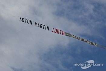 Aston Martin celebration Banner