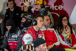 Andre Lotterer watching the race
