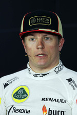 Second placed Kimi Raikkonen, Lotus F1 Team in the FIA Press Conference