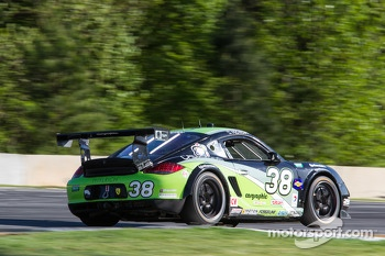 #38 BGB Motorsports Porsche Cayman: Jim Norman, David Donohue
