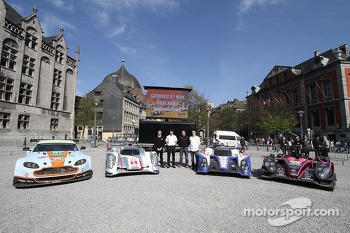 Aston Martin Vantage V8, Audi R18 e-tron quattro, Toyota TS030-Hybrid and Oak Racing Morgan Nissan