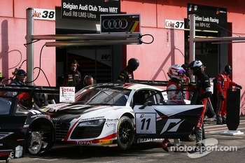 #11 Belgian Audi Club Team WRT Audi R8 LMS ultra: Stphane Ortelli, Laurens Vanthoor