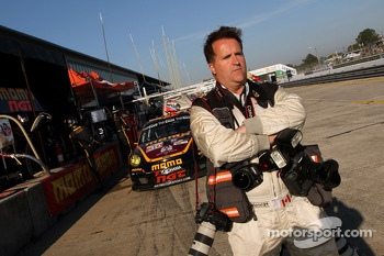 Motorsport.com's art director Eric Gilbert