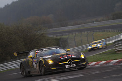 Thomas Jäger, Klaus Graf, Kenneth Heyer, Nico Bastian, ROWE RACING, Mercedes-Benz SLS AMG GT3
