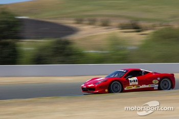 #141 Ferrari of San Francisco Ferrari 458: John Baker
