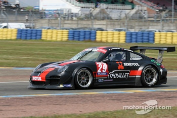 #29 Graff Motorsport Porsche 911 GT3 R: Eric Trouillet, Marcel Sciabbarrasi