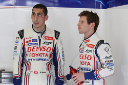 Sebastien Buemi and Anthony Davidson