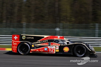 #12 Rebellion Racing Lola B12/60 Coup-Toyota: Nicolas Prost, Neel Jani, Nick Heidfeld