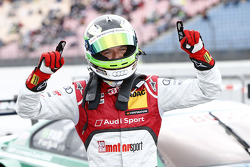 Pole winner Timo Scheider, Audi Sport Team Abt Audi RS 5 DTM