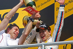Winner, Augusto Farfus, BMW Team RBM BMW M3 DTM and Bart Mampaey, BMW Team RBM