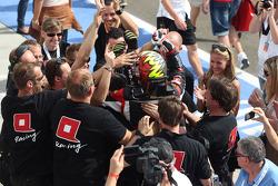 Race winner Robert Huff, SEAT Leon WTCC, ALL-INKL.COM Munnich Motorsport celebrates