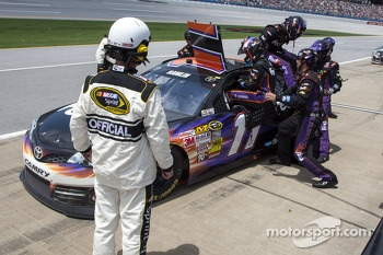Brian Vickers takes over for Denny Hamlin