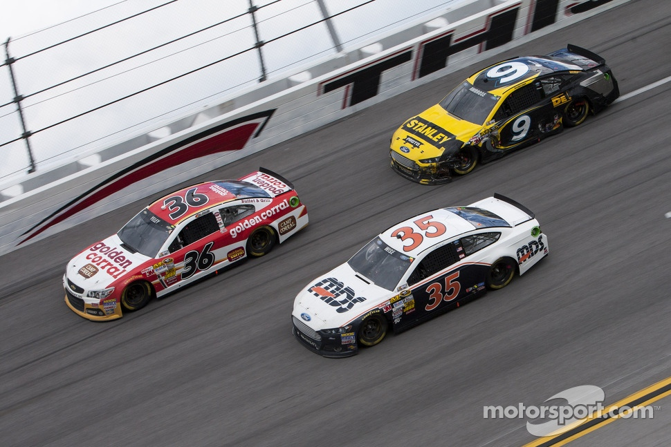 J.J. Yeley, Josh Wise and Marcos Ambrose