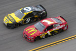 Marcos Ambrose and Jamie McMurray