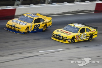 Joey Logano and Reed Sorenson