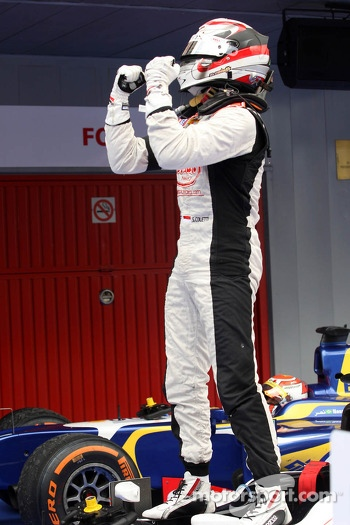 Race winner Stefano Coletti