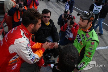 James Hinchcliffe and EJ Viso, Andretti Autosport Chevrolet