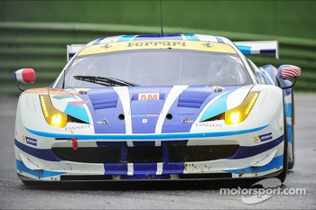 #54 AF Corse Ferrari F458 Italia: Yannick Mallegol, Jean-Marc Bachelier, Howard Blank