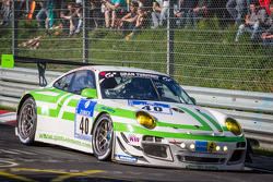 #40 Pinta Team Manthey Porsche 911 GT3 R (SP9): Michael Illbruck, Robert Renauer, Klaus Bachler, Michael Christens
