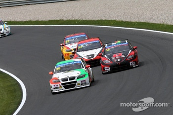 Stefano D'aste, BMW 320 TC, PB Racing and Marc Basseng, SEAT Leon WTCC, ALL-INKL.COM Münnich Motorsport