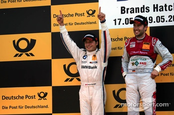 Bruno Spengler and Mike Rockenfeller