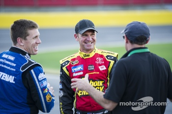 Carl Edwards and Clint Bowyer