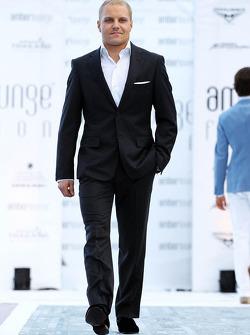 Valtteri Bottas, Williams at the Amber Lounge Fashion Show